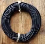 Zündkabel, schwarz, D=5mm, 50cm Stück, orig. aus Lagerbestand