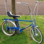 "Bonanza Polo Fahrrad ""DERBY Cross "" , ehemaliges Messemuster, 3 Gang Knüppelschaltung, Trommelbremsen, 20 Zoll Reifen"