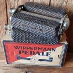 Pedale Herrenausf. WIPPERMANN,  orig. 30-50er J., Standard 9/16  Zoll Gewinde, leichte Lagerpatina, verchromt, NOS