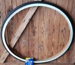 """Fahrrad Reifen """"MICHELIN World Tour """", 28"""", (35-622 / 700x35C), schwarz mit weißer Flanke"""