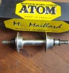 """Naben hinten """"ATOM"""", 40/70er Jahre, NOS, 36Loch, ca. 120 mm Einbaubreite hinten, neu im Originalkarton"""