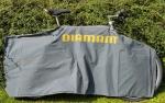 Transport Verpackung GRAU für Fahrräder, orig. DIAMANT, gebraucht. Schnell aufgelegt und Fahrrad sicher transportiert !