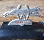 Schutzblechfigur WITTLER, 50er Jahre, Zustand s. Bild