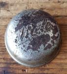 """Fahrrad Klingel Deckel """"MIELE"""", orig. 30er Jahre, verchromt, ohne Unterteil, ggf. Gebrauchsspuren, siehe Bild"""