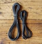 Kabelsatz, schwarz, orig. ohne Kabelschuhe, Ösen etc. , diese sind aber lose zur Nachrüstung im SHOP erhältlich, siehe ArtNr, 02033, 02036 etc.