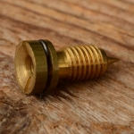 Einsatz f. Zündkerzenstecker, M7, D=10mm/L=21mm, Messing