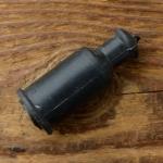 Gummi Manschette f. Zündkerzenstecker, zur Abdichtung zum Zündkabel, L=48mm, D innen=13/4.5mm