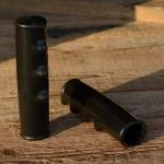 Transportradgriff, schwarz, 25mm, 120mm lang, orig. Altbestand