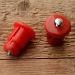 """Lenkerendstopfen """"UNIVERSELL"""", rot, Kunststoff, orig. Altbestand"""