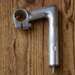 "Lenker Vorbau ""CINELLI"", Alu poliert, L=80mm, Klemmung=26.4mm, Schaftlänge=135mm"