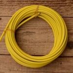 Bowdenzug Außenhülle, gelb, Durchmesser außen 4.8mm, Durchmesser innen 2.5mm, 1 Meter