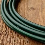 Bowdenzug Außenhülle, dunkelgrün, Durchmesser außen 4.8mm, Durchmesser innen 2.3mm, pro Meter