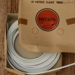 """Bowdenzug Außenhülle """"METAFIL"""" f. Schaltzug etc., weiß, Durchmesser außen 4.0mm, Durchmesser innen 2mm"""