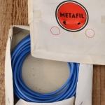 """Bowdenzug Außenhülle """"METAFIL"""", blau, Durchmesser außen 5mm, Durchmesser innen 2,8mm"""