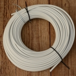 Bowdenzug Außenhülle, weiß, Durchmesser außen 5.0mm, Durchmesser innen 2.8mm