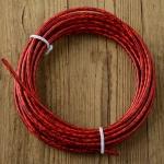 Bowdenzug Außenhülle, rot, Durchmesser außen 5.0mm, Durchmesser innen 2.5mm, pro Meter