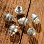 Abschlußhülse / Endkappe für Bremshebel etc., D_innen=5.5/2.5mm,  D_aussen=10/7.6/4.3mm L=12mm, abgesetzt, Aluminium