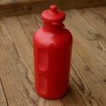 Trinkflasche, REG Atox, orig. 70/80er Jahre, rot, ohne Aufdruck,  Kunststoff, orig. Altbestand, NOS