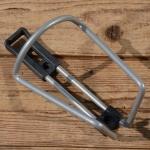 Halter für Trinkflasche, silber, Alu / Kunststoff, zur Rahmenmontage, NOS