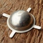 Pedalkappe, Aluminium, D_innen=23.5mm D_aussen=30mm, orig. alte Neuware