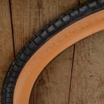 Fahrrad Reifen, 24 x 1.75 x 2 (47-507), braune Flanke, Dunlop Extra Prima