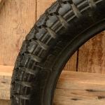 """Motorrad / Moped Reifen 20 x 3,50 (3.50  - 16),  """"PIRELLI MT53"""", schwarz, Altbestand"""