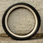 """Moped Reifen 21 x 2,75 (2 3/4  - 17),  """" METZELER Weisswand"""", WW, Altbestand"""