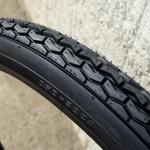 Moped  Reifen, 24 x 2.25 (600 x 55 C) , schwarz, klassische, verstärkte  Ausführung für Mopeds und Motorfahrräder