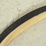 "Fahrrad Reifen ""METZELER P80"" , 28 x 1,75 x 2 (47-622), Weißwand WW, alte Neuware"