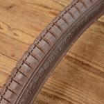Fahrrad Reifen 28 x 1 1/2, (40-635), braun, klassisches Profil