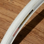 """Fahrrad Reifen """"KENDA KONTENDER"""", 27/28"""", (26-622 / 700x26C), weiss"""