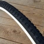 """Fahrrad Reifen """"CONTINENTAL"""", Ride Tour,  27"""" x 1 1/4, (32-630), schwarz / weisswand"""