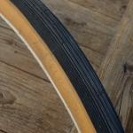 """Fahrrad Reifen """"SWALLOW"""", 27"""" x 1 1/4, (32-630), schwarz / braune Flanke"""