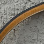 "Fahrrad Reifen, ""SWALLOW"", 28 x 1 3/8 x 1 5/8 (37-622), schwarzes Profil, braune Flanke"