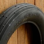 """Roller Reifen """"MITAS"""", 12 1/2 x 2 1/4 (62-203), schwarz, alte, dicke Version !"""