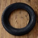 """Roller Reifen """"CHENG SHIN TYRES"""", 12 1/2 x 2 1/4 (62-203), schwarz, alte, dicke Version !"""