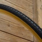 "Fahrrad Reifen, ""Cheng Shin"", 26 x 1 3/8  (37-590) , 650 x 35A, schwarz Flanke braun, Neuware"