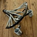 Motorfahrrad 74/98 ccm Sattel Gestell, stabil und sehr komfortabel, aufwändig gefertigt, ohne Decke