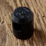 """Schutzkappe f. Schaltkettchen """"SACHS"""", für F&S Schaltnabe, Kunststoff schwarz, D=13/18mm, 22mm lang"""