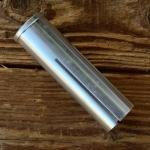 Reduzierhülse f. Gabelschaft / Lenkerschaft, Aluminium, D=25.4/22.2mm, Länge=90mm, 4-fach geschlitzt