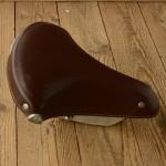 Sattel Wittkopp , Schwingsattel, Ausführung Kunstleder braun, Länge 27 cm, Breite 24 cm, ideal f. Moped u. Hilfsmotor