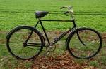 """Herrenfahrrad """"BUSSARD"""", schwarz, 20er Jahre, restauriert, RH=60 cm, 28 Zoll Wulstfelgen, Dauertreter 5/8"""""""