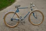 """Herrenfahrrad Sport, """"EXPRESS Sport"""", 60er Jahre , blau, RH=55cm, 26 Zoll, Originalzustand, 3-Gang Torpedo Schaltung"""