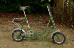 "Fahrrad , 12 Zoll, ""WESTERHEIDE NUFI-Roller"", 70er Jahre , grün, RH=43cm, guter Originalzustand, Favorit Nabe"