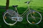 """Damenfahrrad """"Gold-Rad"""", 80er Jahre, F&S Torpedo Dreigang, gold, RH: 55cm , 28 Zoll Alufelgen, neuwertiger Zustand"""