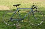"""Rennrad """"DIAMANT Mod.167C"""" , Bj. 1955, blau-metallic, Favorit Ausstattung, RH: 55 cm, fahrbereiter Zustand"""