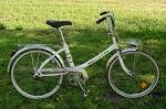 """Fahrrad /  Minirad , """"PEUGEOT"""", 70/80er Jahre , weiss, unrestaurierter Originalzustand,"""