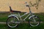 "Bonanza Fahrrad / Polo Fahrrad ""KALKHOFF"""", Torpedo 3-Gang m. Rücktritt , 70er Jahre., silber, 20 Zoll"