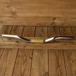Lenker, Sportrad, orig. NOS 50-60er J., Chrom/Alu eloxiert 22 mm, Breite 52 cm, Verdickung 25,4 mm