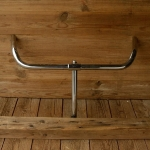 Lenker, verchromt, Alt Holland Form,  22mm, Breite 55 cm, Schaftlänge 20 cm, neuwertig